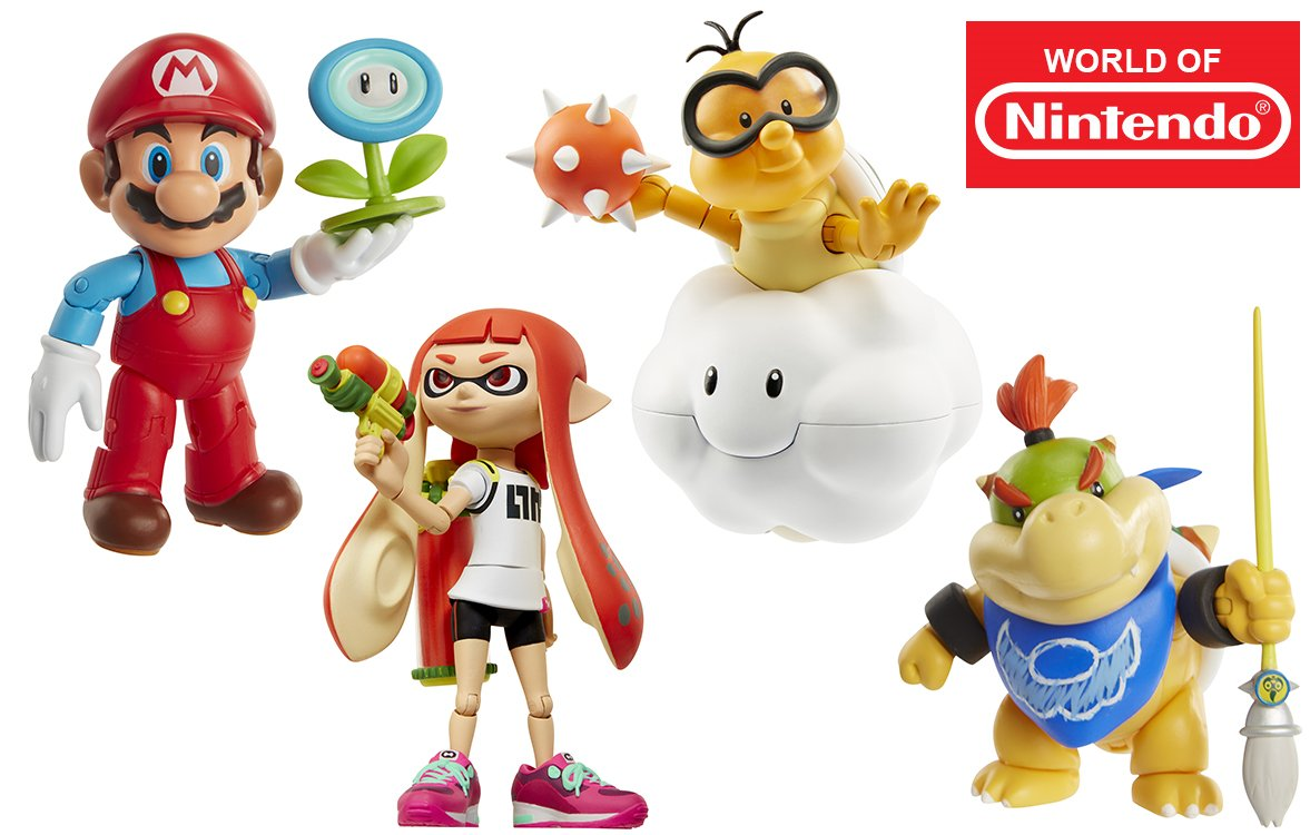 Jakks Pacifics World Of Nintendo Line Is Still Going Strong Toys And Other Merchandise Are In The Works A Number New Additions On Way