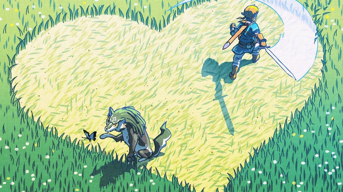 Zelda: Breath of the Wild - Valentine's Day art - Nintendo Everything