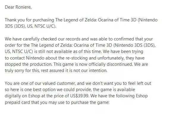 zelda-ocarina-discontinued