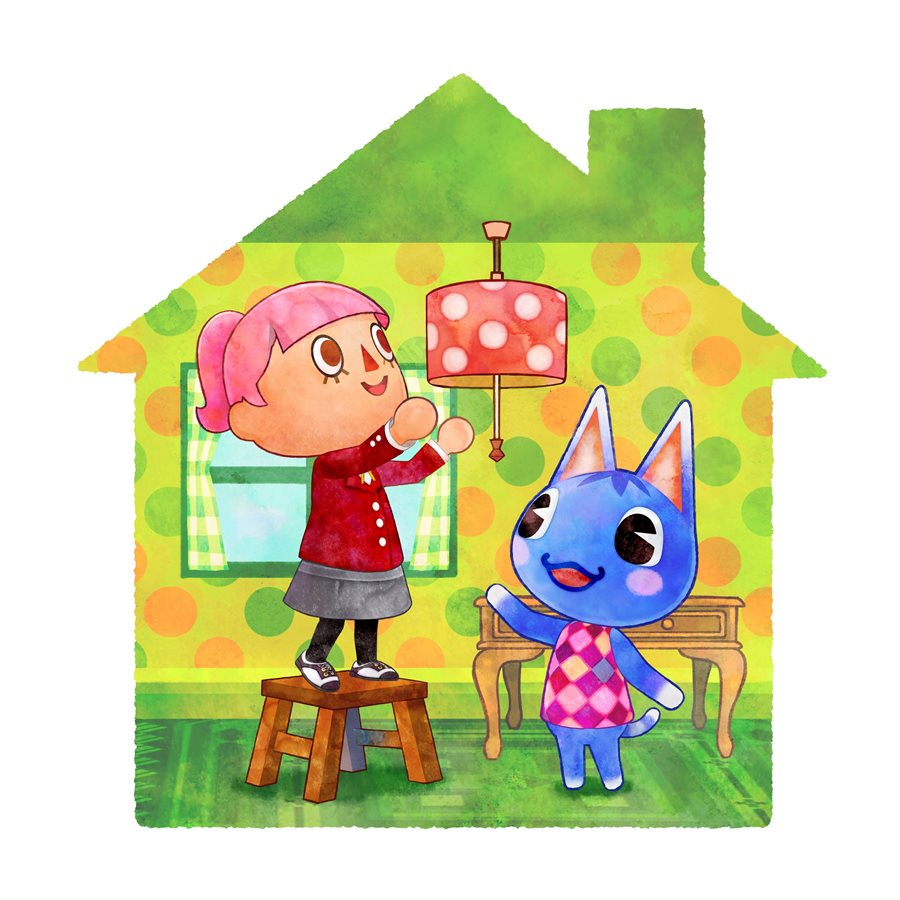 Animal crossing happy home designer art nintendo everything for 7 11 happy home designer