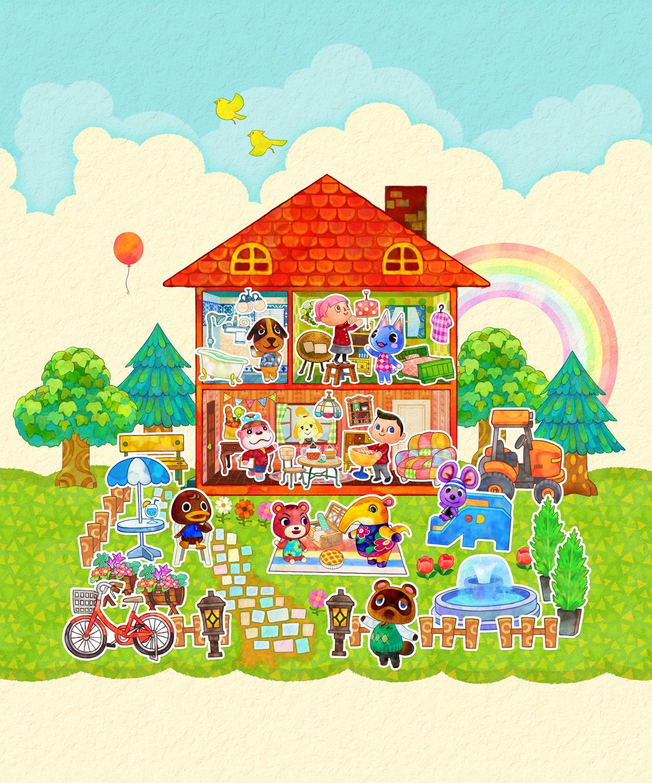 Animal Crossing Happy Home Design Videos: Animal Crossing: Happy Home Designer Art