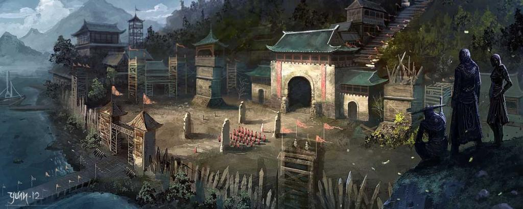 Impressive Assassin S Creed Fan Art Features Chinese Setting