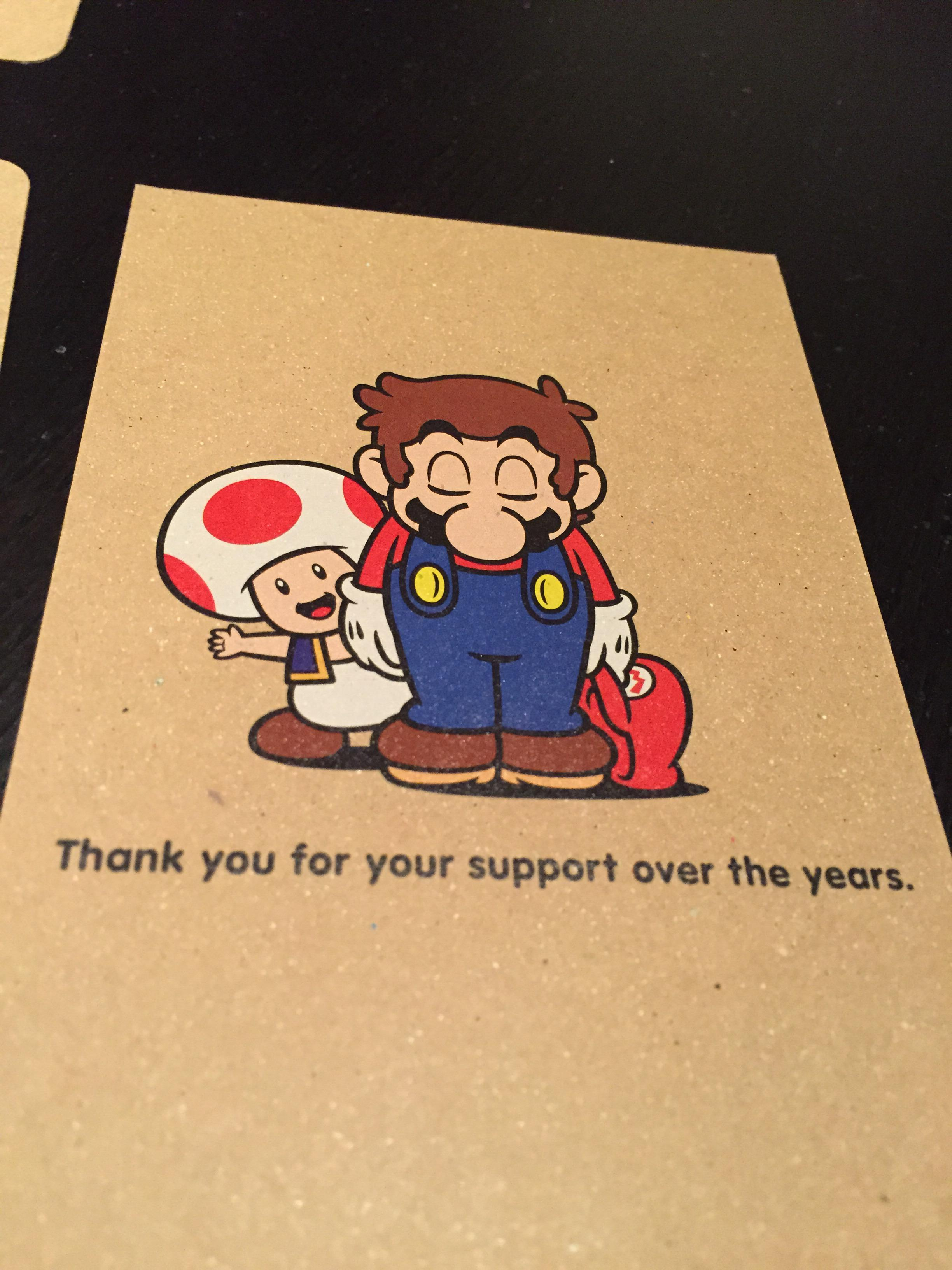 photos of the club nintendo calendar 2016