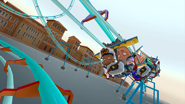 Coaster Crazy Deluxe Listed For Release On The Wii U EShop Next - Roller coaster on a cruise ship