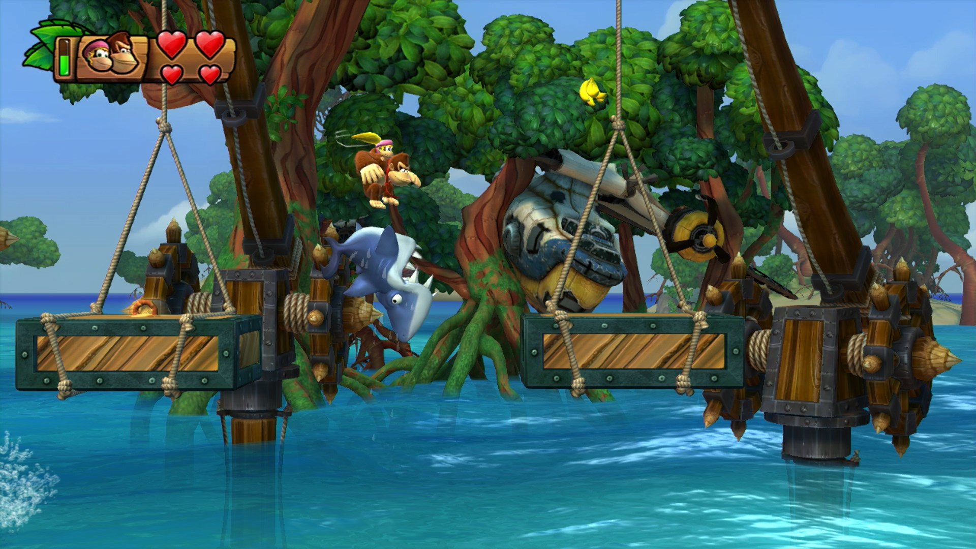 Donkey Kong Country Tropical Freeze Screenshots Show New Levels