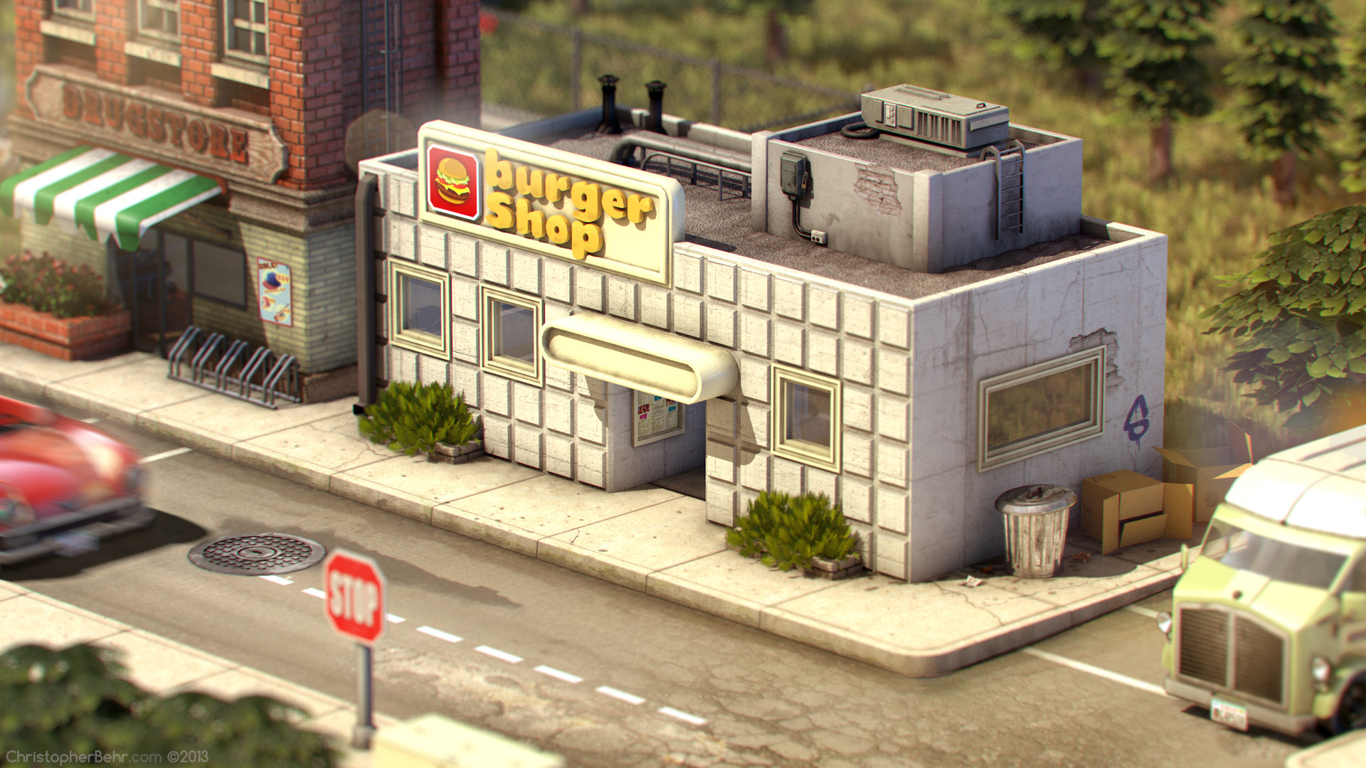 Images: Fan imagines EarthBound in 3D - Nintendo Everything