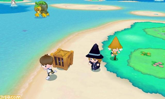 Fantasy Life World Map.New Fantasy Life Screenshots Nintendo Everything