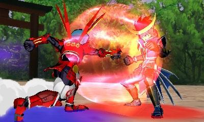 Gaist Crusher God screenshots show Sengoku Basara 4