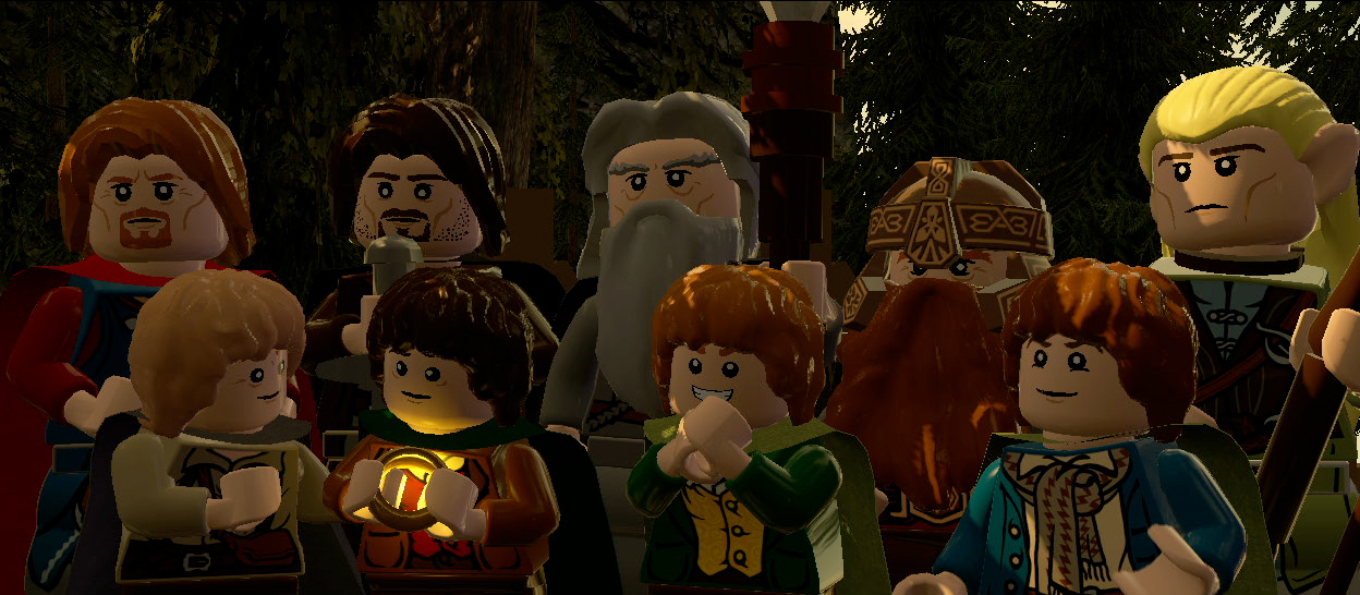 LEGO The Lord Of Rings Screenshots