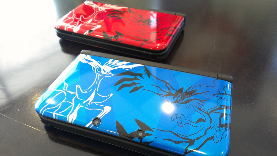 Photos Of The Limited Edition Pokemon 3ds Xl Systems Nintendo
