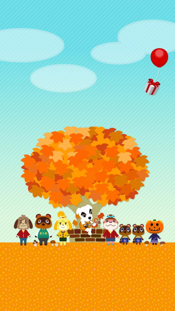 Animal Crossing mobile backgrounds available on Nintendo's ...