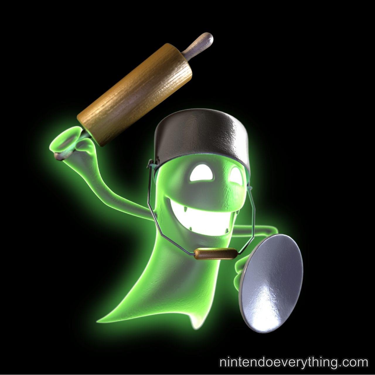New Luigi S Mansion Dark Moon Screenshots Art Nintendo
