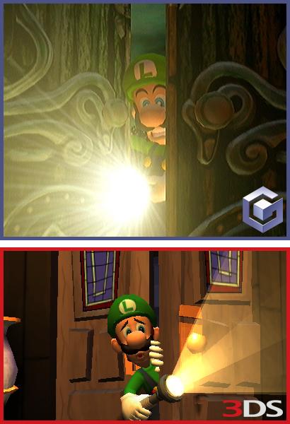 Luigi S Mansion 3ds : Luigi s mansion screenshot comparison nintendo everything