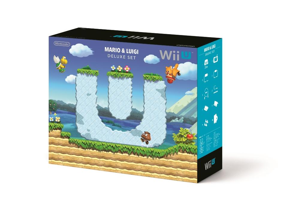 New Super Mario Bros U Luigi U Deluxe Set Bundle Confirmed