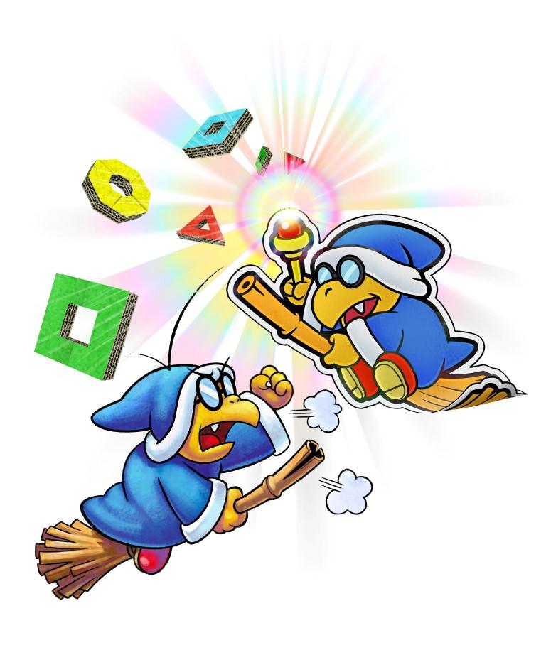 Mario Luigi Paper Jam Artwork Nintendo Everything
