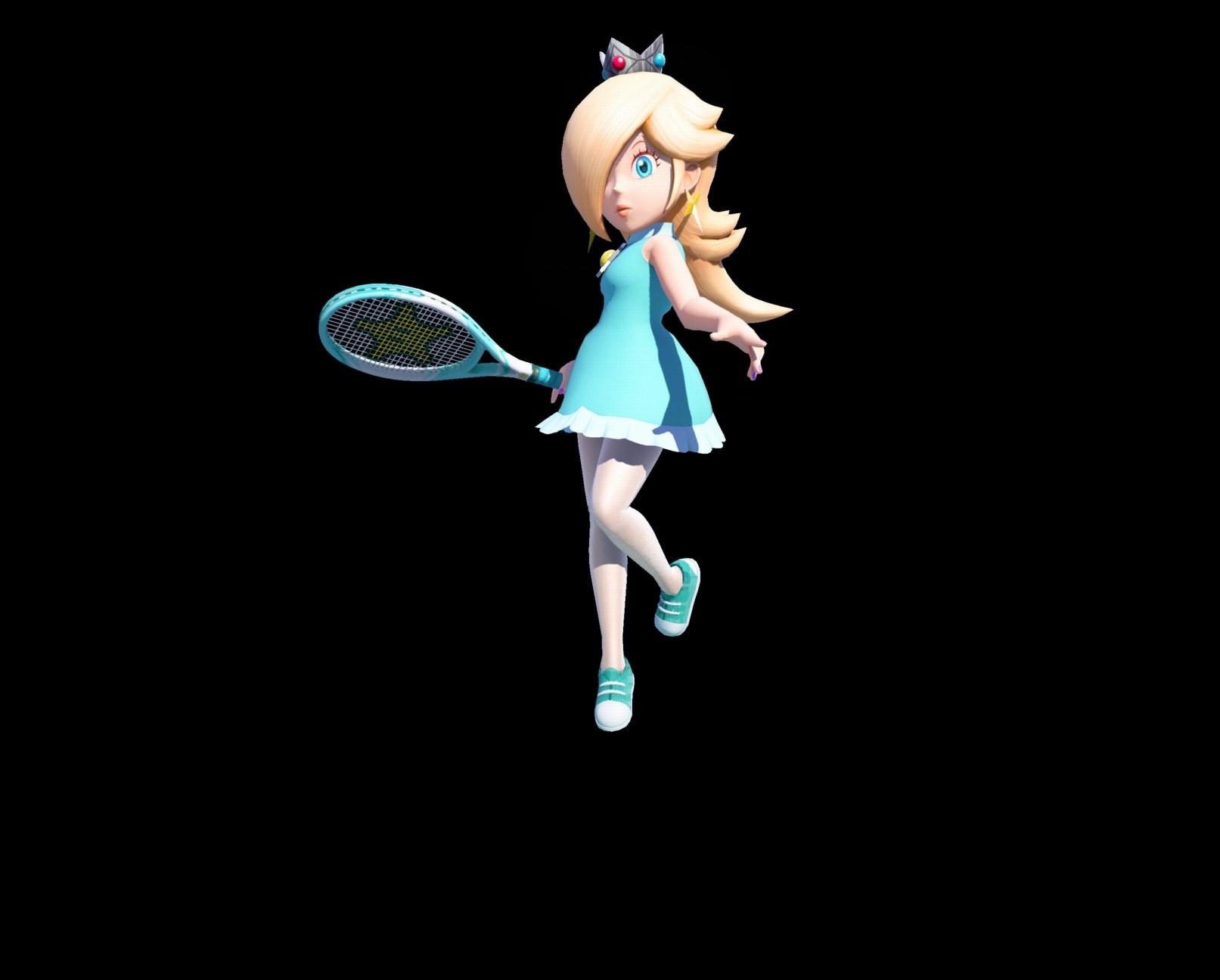 mario tennis ultra smash art nintendo everything
