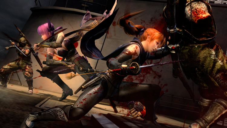 Ninja Gaiden 3 Razor S Edge Kasumi Screenshots Nintendo Everything