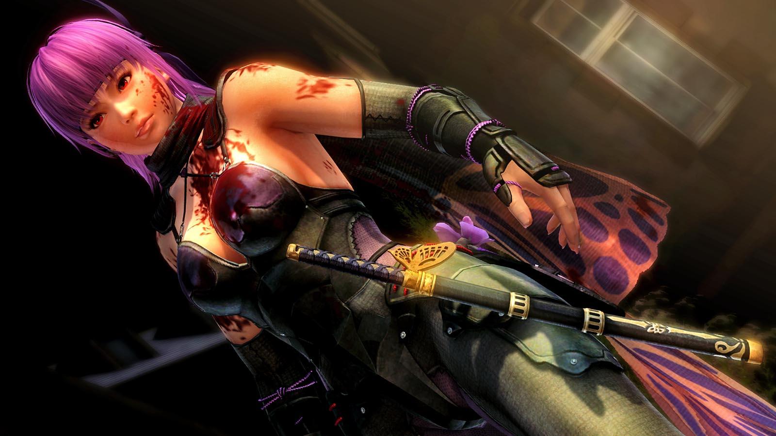 new ninja gaiden iii: razor's edge screenshots show ayane - nintendo