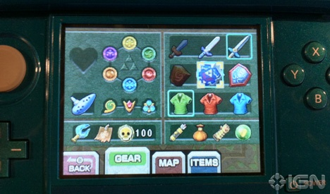 The legend of zelda ocarina of time 3d has a new item kind of nintendo everything - Ocarina of time 3ds console ...