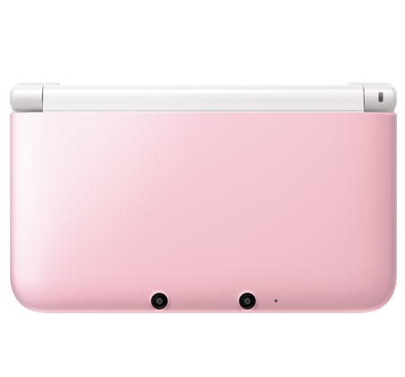 Photos Of The Pink X White 3ds Xl Nintendo Everything