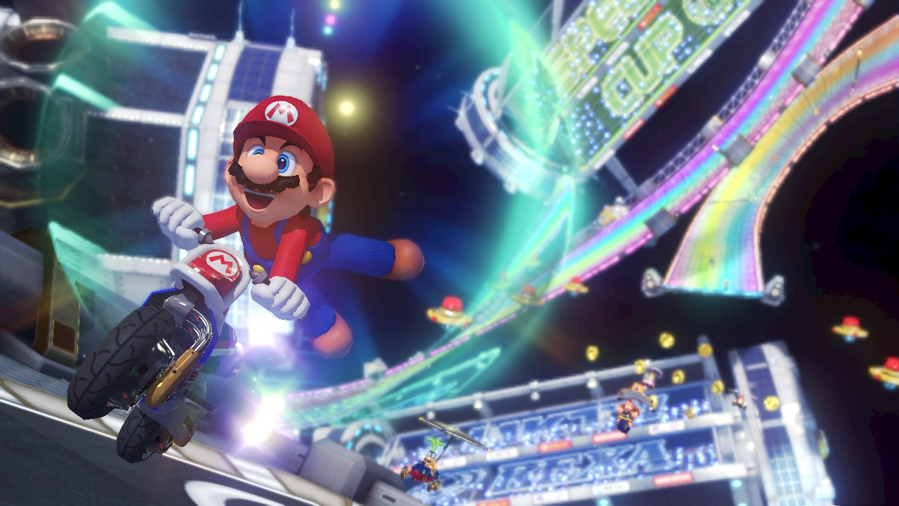 Mario Kart 8 Deluxe Producer On The Creation Of Rainbow Road