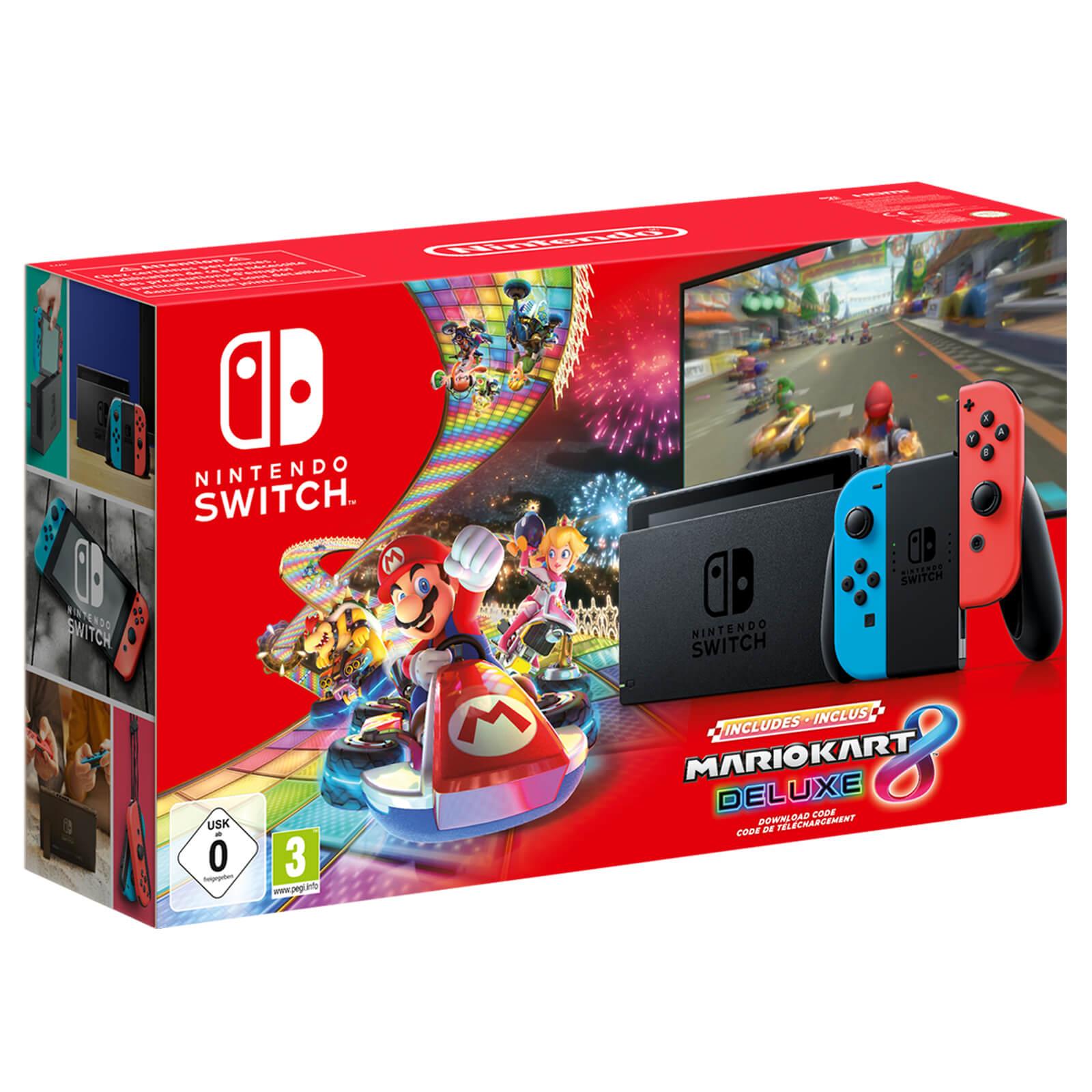 Nintendo Selling Mario Kart 8 Switch Bundle With Improved