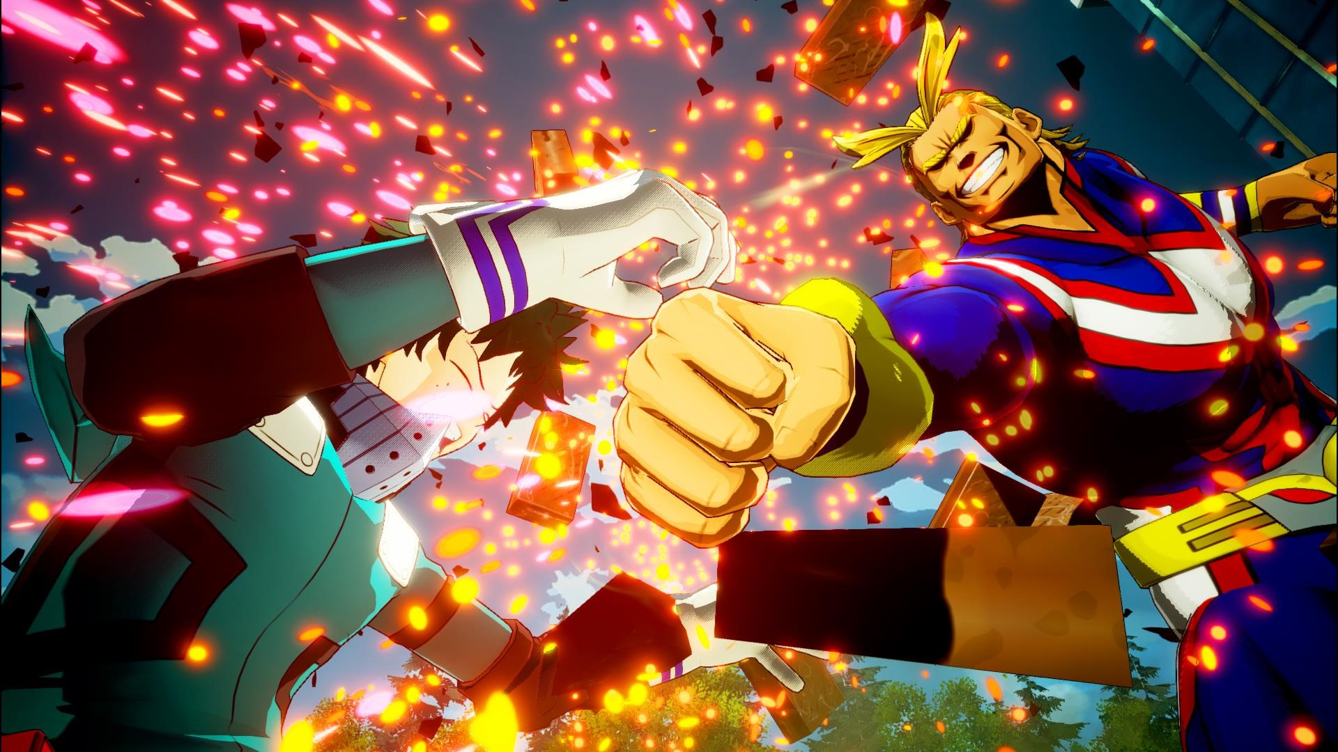 My Hero Academia One S Justice Screenshots Show All Might