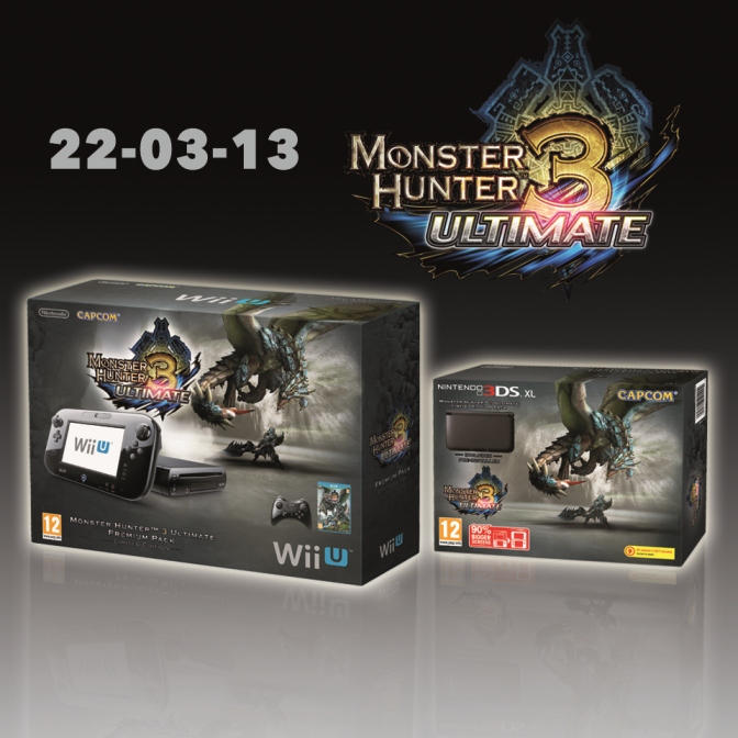 Warriors Orochi Ares: Europe Getting Monster Hunter 3 Ultimate Wii U And 3DS