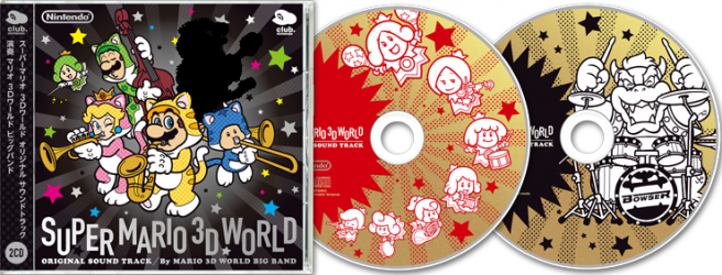Super Mario 3D World original soundtrack heading to Club