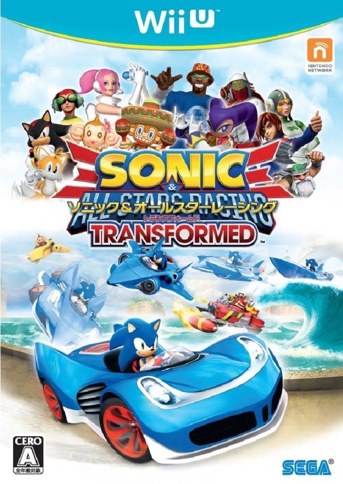 Japanese Sonic Amp All Stars Racing Transformed Boxart