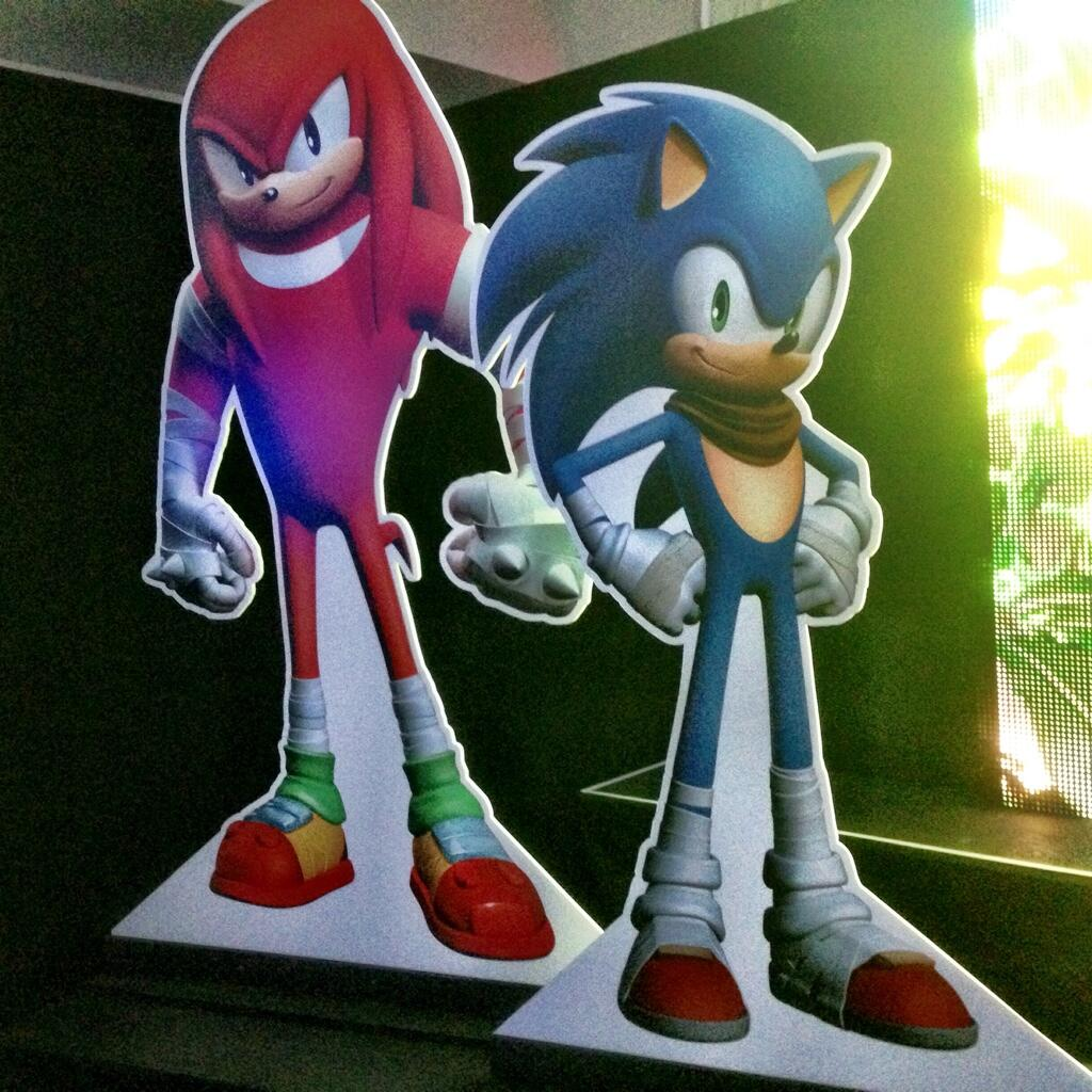 SEGA planning new game around Sonic Boom, first look at new Sonic and Knuckles designs