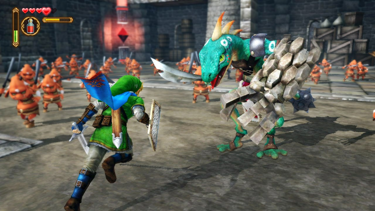 More Hyrule Warriors details - 2-player mode and more