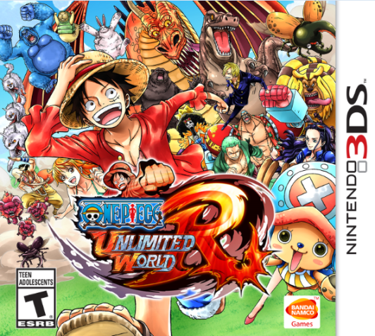 Best Buy/GameStop: One Piece: Unlimited World Red (3DS) for