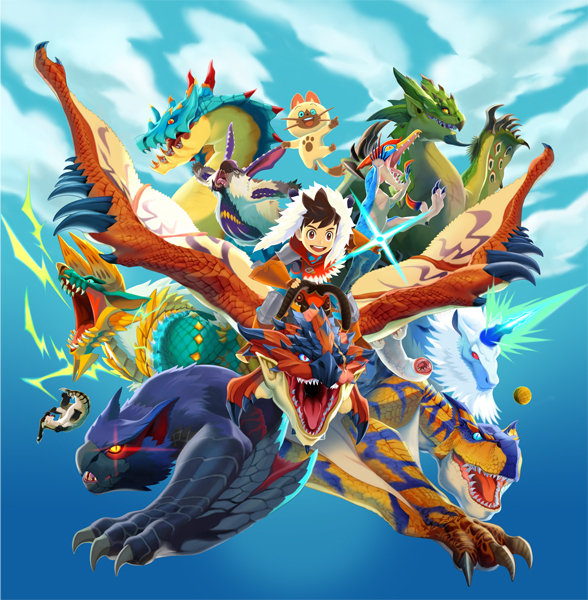 Monster Hunter Stories New Trailer And Screenshots Nintendo