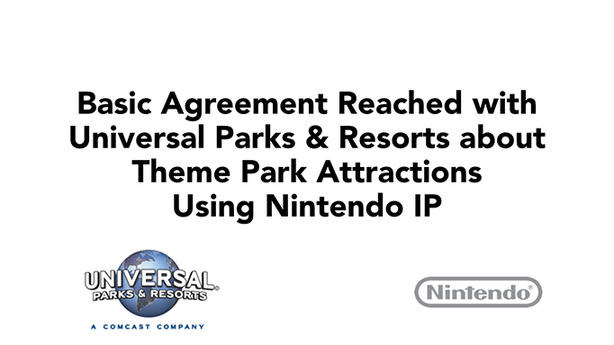 A Few More Iwata Comments About Nintendo And Universals Partnership