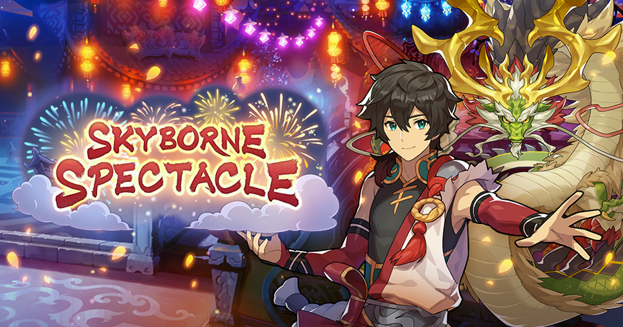 Dragalia Lost – Skyborne Spectacle Raid Event Revival begins August 31st