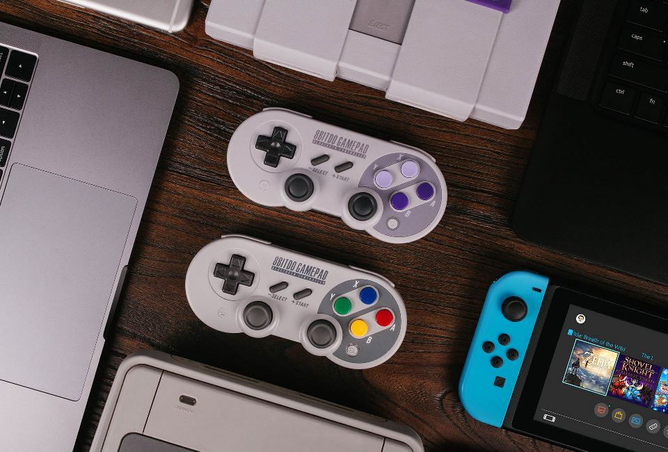 Update out now for 8Bitdo's SN30/SF30 Pro Controllers (version 1 23
