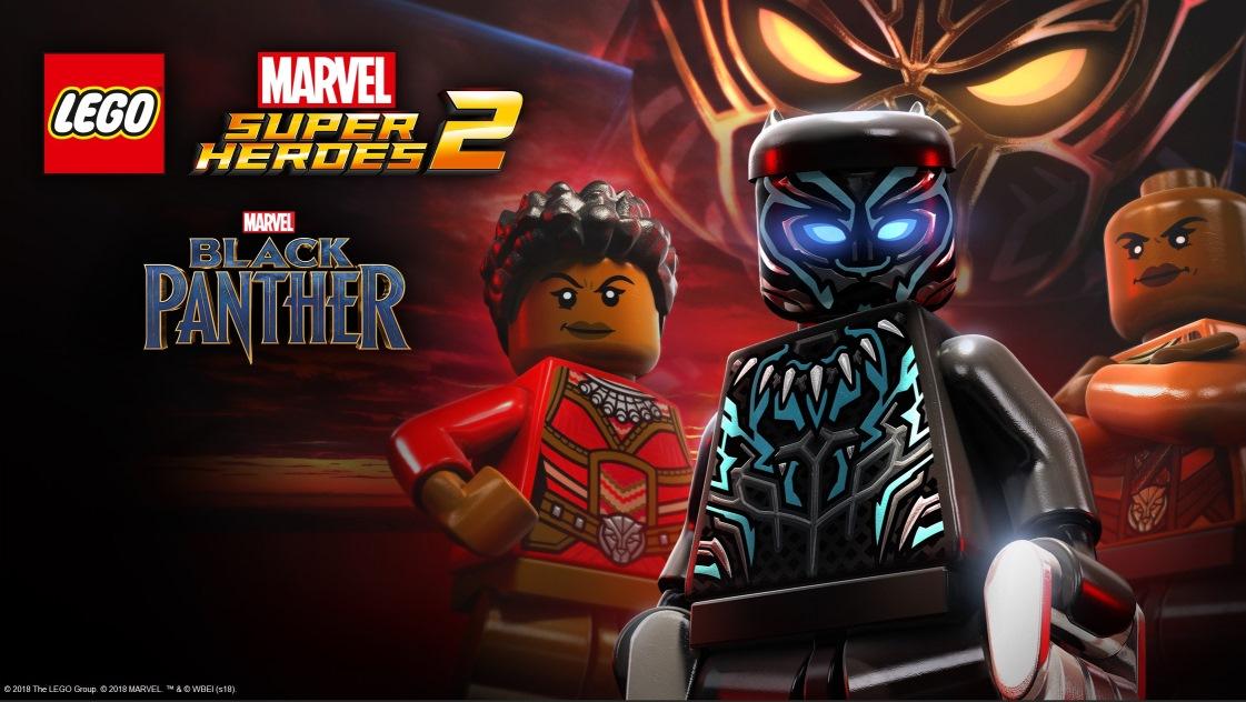 LEGO Marvel Super Heroes 2 adds Black Panther DLC - Nintendo Everything