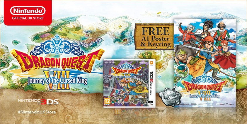 Dragon Quest VIII pre-orders on Nintendo UK Store now