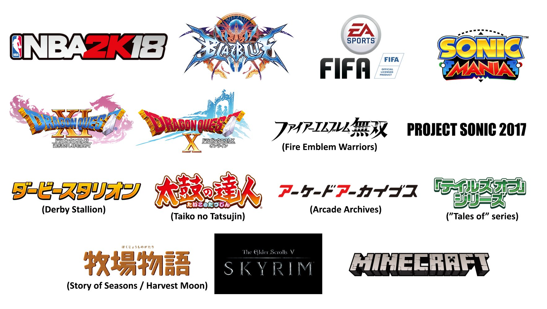 Full Japanese Switch Lineup For Launch And Beyond Nintendo Everything