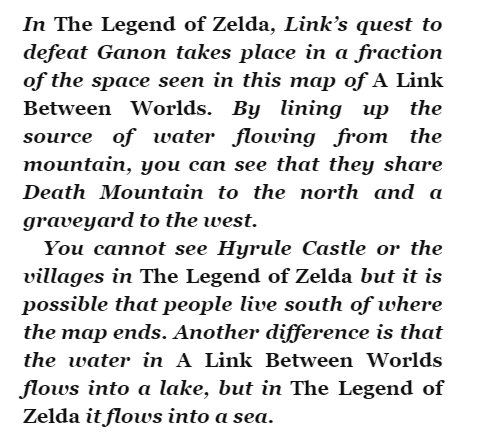 Zelda Encyclopedia confirms the entirety of the first game