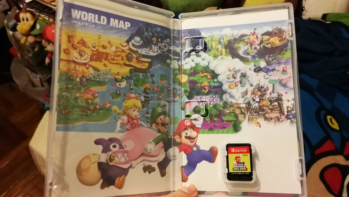 A Look Inside New Super Mario Bros U Deluxe S Case Nintendo Everything
