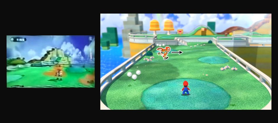 Nintendo seems to have used Super Mario 3D World's