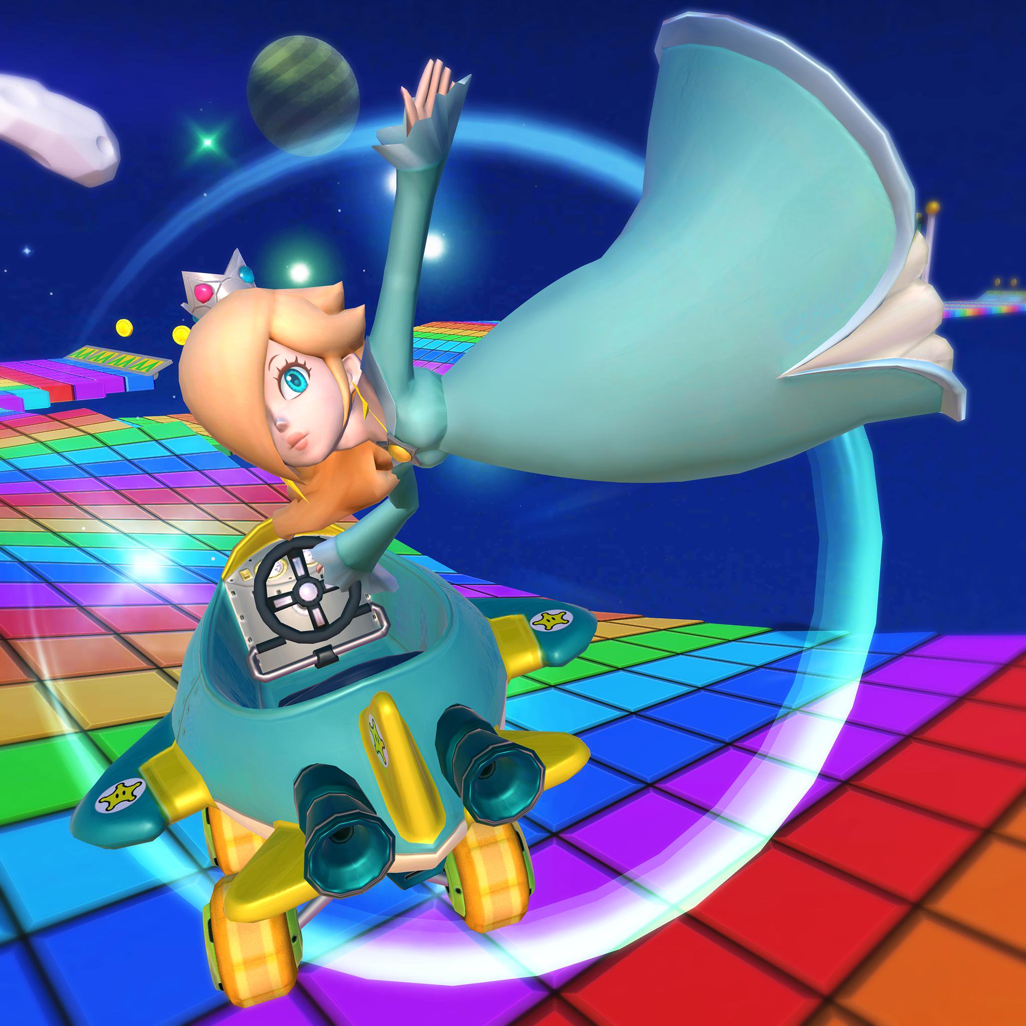 Mario Kart Tour Rosalina Rainbow Road Confirmed For