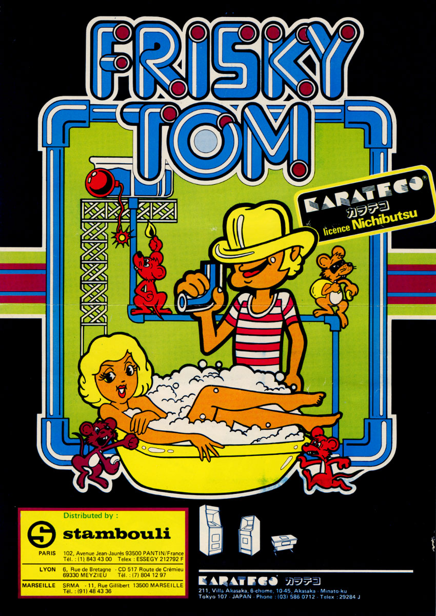 Arcade Archives Frisky Tom coming to Switch this week - Nintendo Everything