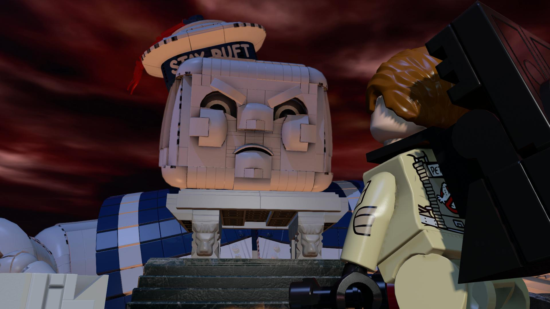 how to play the ghostbusters levile on lego dimenshens
