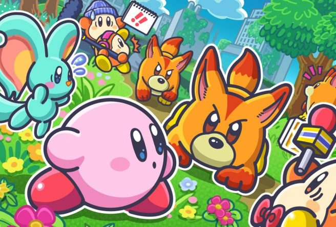 Kirby and the Forgotten Land art