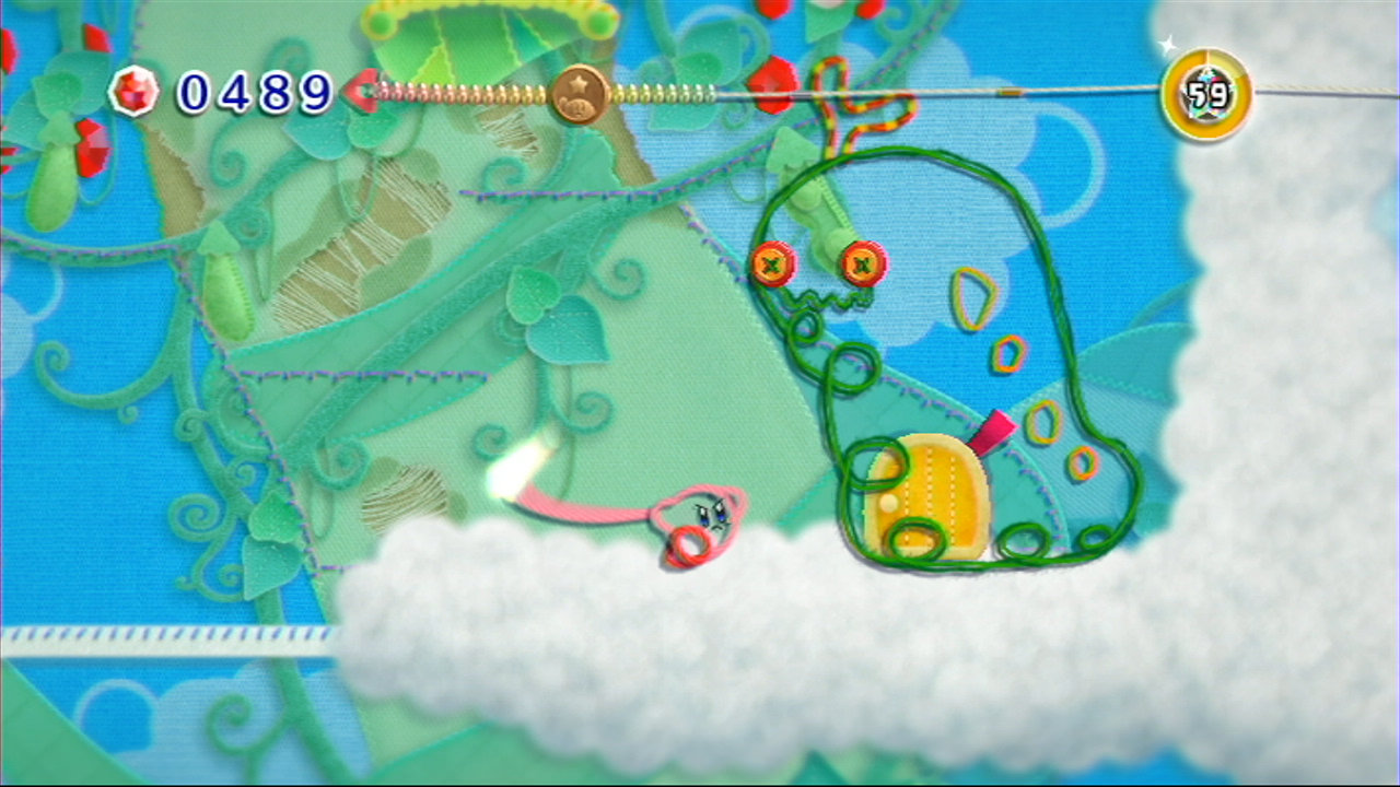 More Kirby's Epic Yarn Wii U footage (Wii download