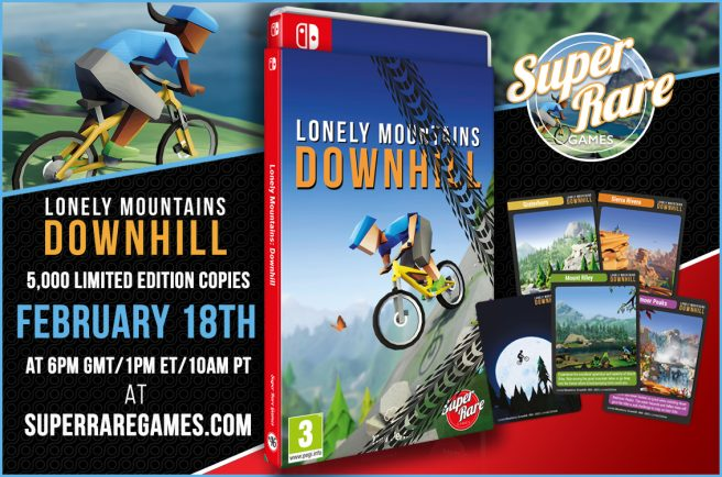 Lonely Mountains: Downhill physical
