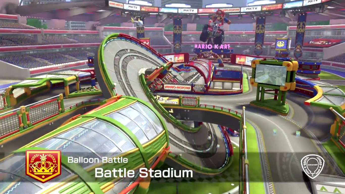 A Look At All Battle Mode Arenas In Mario Kart 8 Deluxe Nintendo